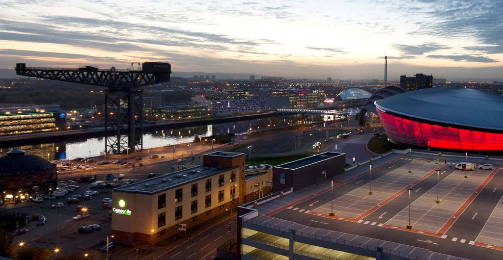 SECURE LONG TERM INVESTMENT IN GLASGOW / 04 LOCATION Glasgow is the cultural, sporting and academic heart of Scotland and is fast becoming one of Europe s