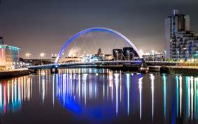 Glasgow is the 6th most visited UK city by international tourists with 2.3 million tourist trips made to the city in 2017 with a total spend of 619 million.