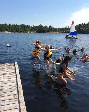A SAFE PLACE FOR YOUR CHILD All camp staff are selected for their skills, leadership abilities and commitment to