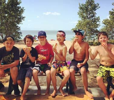 A HEALTHY ENVIRONMENT Our YMCA camps offer active programs that promote a healthy lifestyle.