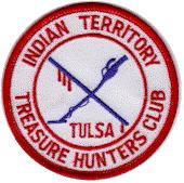 9 The ITTHC Treasure News is published by The Indian Territory Treasure Hunters Club, Inc. P.O.