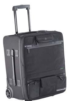 The Maxima 800+ bag and the Trolley 900+ trolley case offer the best protection for large camera and video equipment and plenty of storage space for further accessories such as a notebook PC,