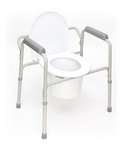 Commodes Commodes Accessories Pail, Lid & Handle Accessories for the Breezy Everyday Commodes.