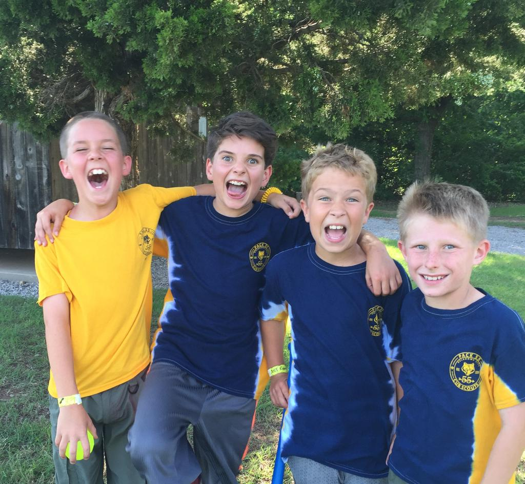CUB SCOUT & WEBELOS SCOUT SUMMER CAMP Join hundreds of other Scouts and families at Camp George