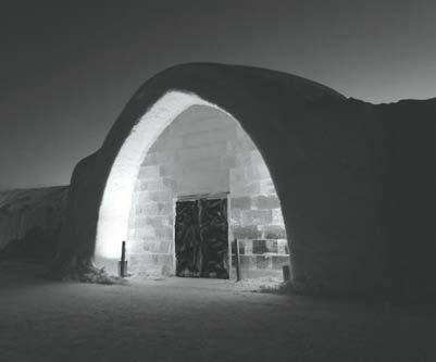 THE ICEHOTEL For many years the Arctic was a popular destination in the summer season to see the land of the midnight sun but in winter the few inhabitants had the snow and ice to themselves.