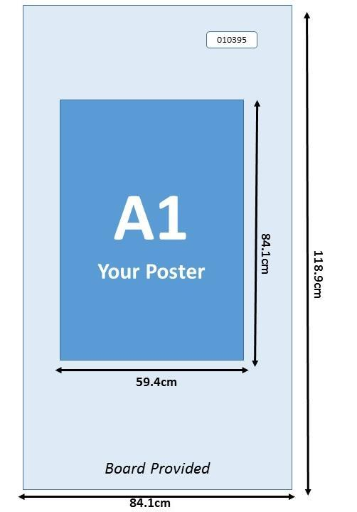 2.1 Guideline for Poster Presentation IMPORTANT NOTES A display board (size: 84.1cm wide and 118.9cm high) and adhesive tape will be provided to put up the respective poster display.