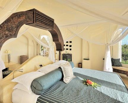 Originally designed for Benny Andersson - one of the members of the 1970 s pop group ABBA - Kilindi is a true blend of the very best of diverse cultures to be found in Tanzania and on its adjacent