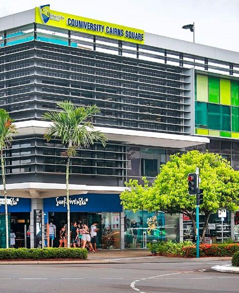 JAMES COOK UNIVERSITY (JCU) offers undergraduate and post graduate courses including arts, law, science and medicine. JCU has announced that it will open a second Cairns campus within the CBD.