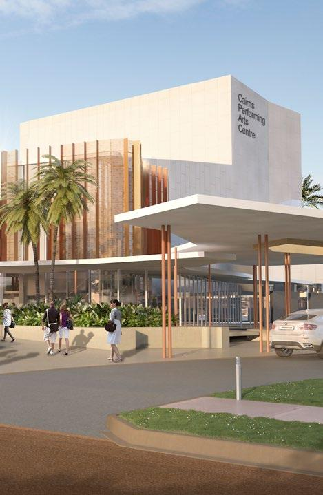 THE PRECINCT $65 MILLION The Precinct is a proposed PERFORMING ARTS CENTRE that will incorporate tropical parklands and outdoor performance areas.