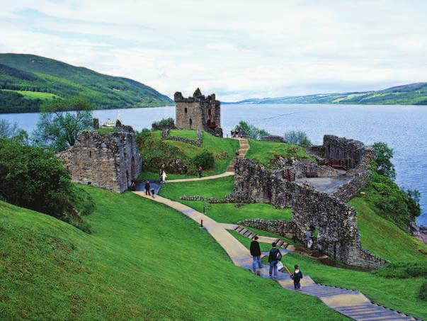 Urquhart Castle at Loch Ness Terms & Conditions Deposit & Final Payment A $1,000-per-person deposit is required to hold space for the Scotland Walk. Final payment is due 120 days prior to departure.