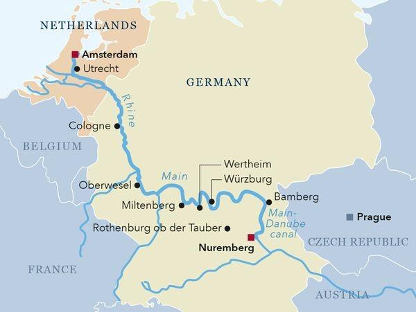 Wed., Apr. 24 HARTFORD / EN ROUTE Today we drive to Chicago s O Hare International Airport where we depart on our flight traveling to Amsterdam, the Netherlands. (I) Thu., Apr. 25 AMSTERDAM This morning we arrive in Amsterdam where we are met and directed to our motor coach.