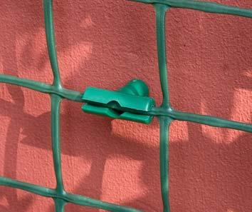 5 ) 5 2 MESH SUPPORT CLIPS For securing most types and sizes of plastic