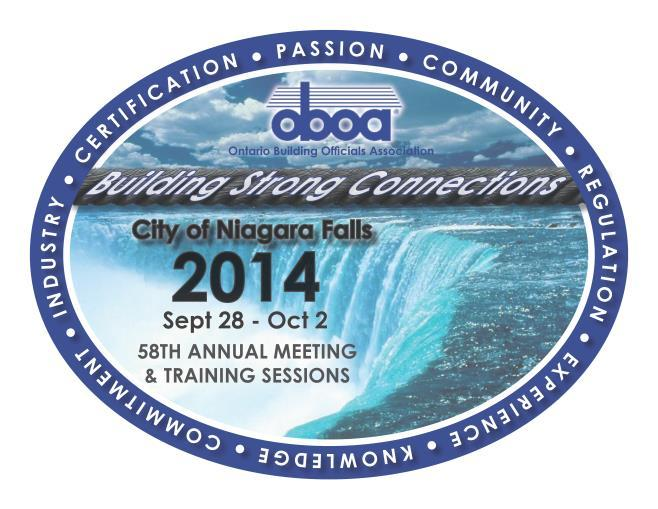 Page1 Ontario Building Officials Association 58 th Annual Meeting & Training Sessions Sheraton on the Falls