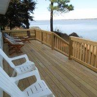 Beachfront cottage on James River across from Jamestown & Williamsburg Summary Privacy, a beautiful view, a private