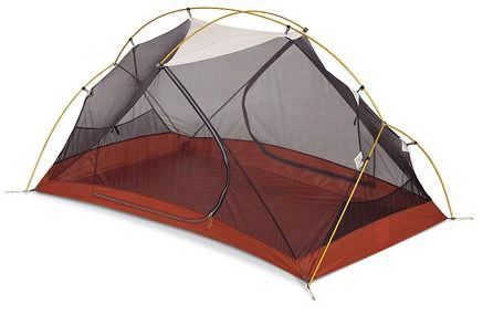Price $530 Page 1 MSR Hubba Persons: 1 Area: 17 ft² w/ 9.5 ft2 Vestibule Weight: 3 lbs oz Design: Great ventilation, good headroom for a lightweight backpacking tent.