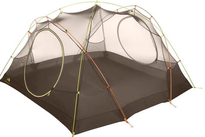 2 large vestibules 9 ft² each Our best selling tent, lightweight, stable, pack able a triple threat. Crazy new low price.