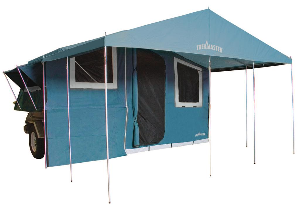 ASSEMBLY & CARE INSTRUCTIONS 7 x TRAILER TENT SERIES 9
