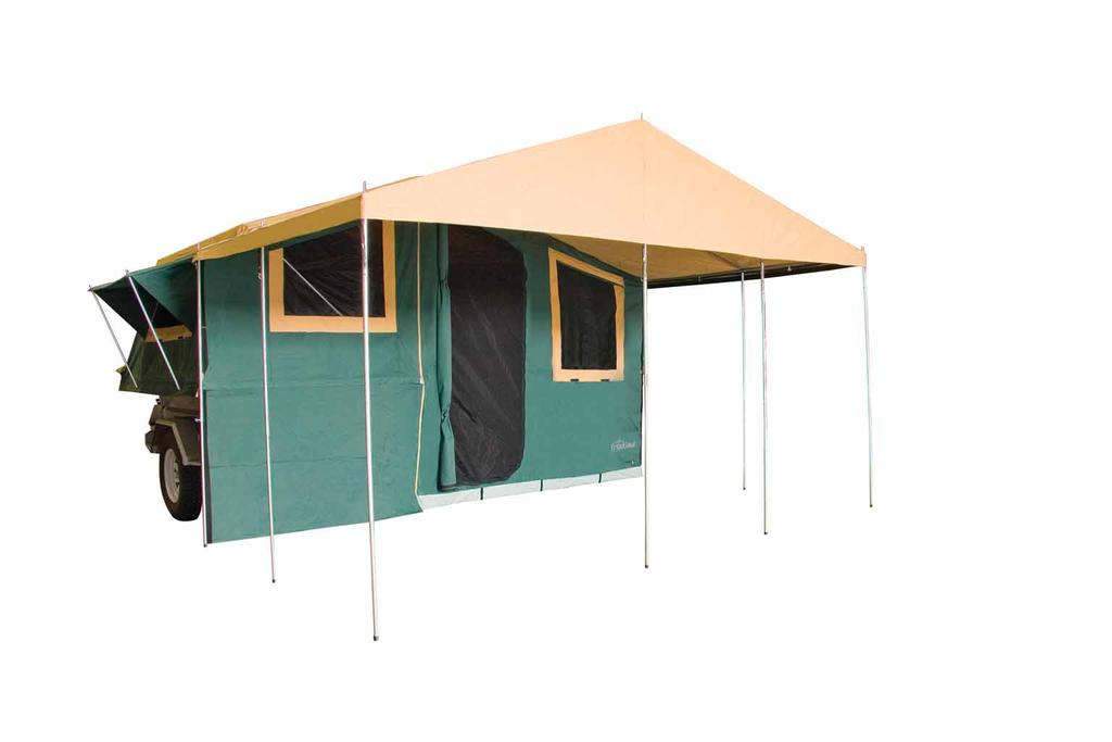 ASSEMBLY & CARE INSTRUCTIONS 7 x TRAILER TENT SERIES