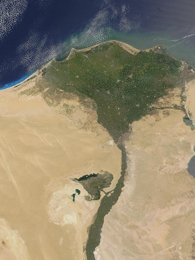 Section 1 Geography and Ancient Egypt The Gift of the Nile Why would some say that the Nile brought life to Egypt?