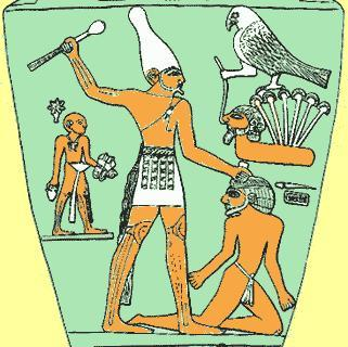 Archaic 3100 2686 BC Uniting Upper and Lower Egypt Kings Unify Egypt The king of Lower Egypt ruled from a town called. The king wore to symbolize his authority.