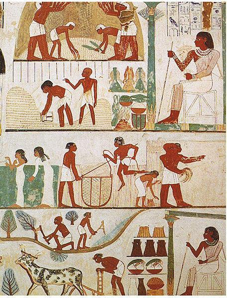Shortly after the invasions of the Hittites and Sea Peoples, the New Kingdom and Egypt fell into a period of Work and Daily Life As