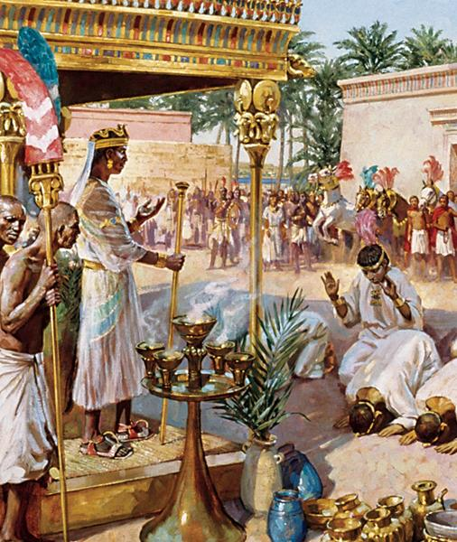 10.3. Kush Conquers Egypt After the collapse of the New Kingdom, Egypt fell into political chaos. At least ten Egyptian kingdoms fought one another for power.