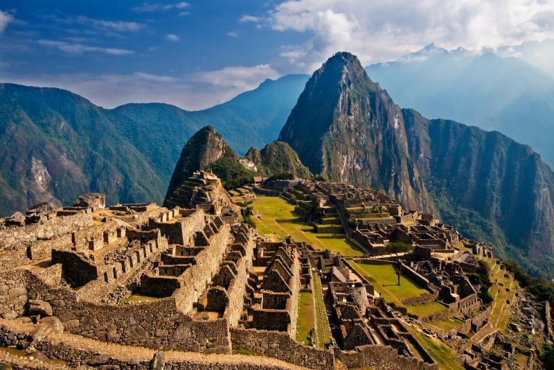 The highlight of the trail is when it passes through the spectacular Incan ruins of Machu Picchu.