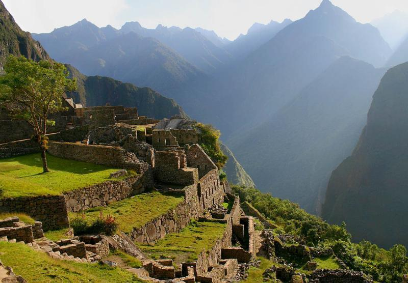 Hiking up the stone-paved Inca pathways you will be left speechless by the beautiful natural scenery surrounding you, winding your way up valleys to mountain passes as high as that of Warmiwañusca
