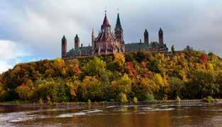 Day 3 Ottawa Thursday September 14 Sit back and enjoy the colorful views of the Autumn countryside along the way to Ottawa, the historic and