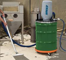 The Heavy Duty Dry Vac has been engineered to vacuum more dry materials in less time with less wear.