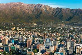 INFO! Founded in 1541 by Pedro de Valdivia, the Chilean capital is today a