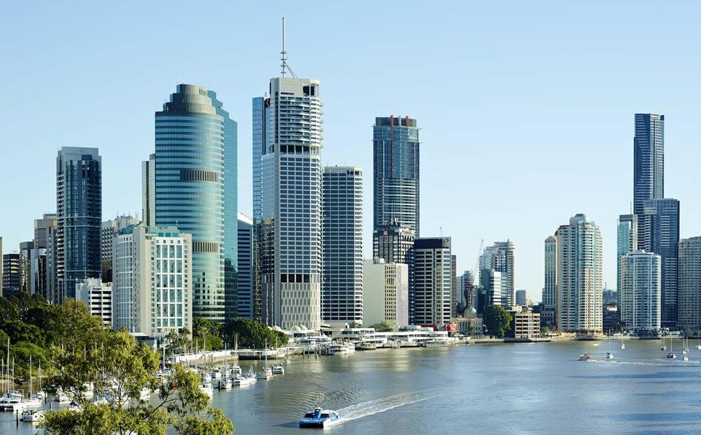 Brisbane continues to grow, with residents and businesses drawn to its international