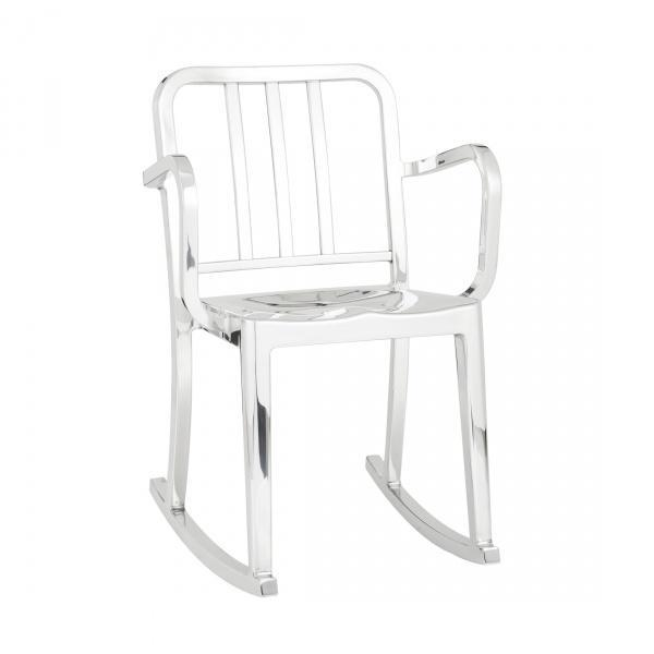 CH21 Quantity: 1 Location: 7 TH Floor Suite Manufacturer: Emeco Product Description: Heritage Rocking Armchair Model #: