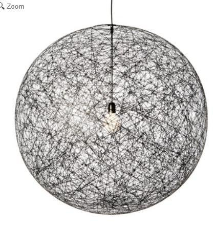 L9 Quantity: 7 Location: 1 st Floor Bar Manufacturer: Moooi Product Description: Random Light