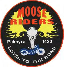 Unpredictable weather doesn't stop Palmyra Lodge Hosts Blue Star Mothers Poker Run What have the Palmyra MooseRiders been up to this summer?