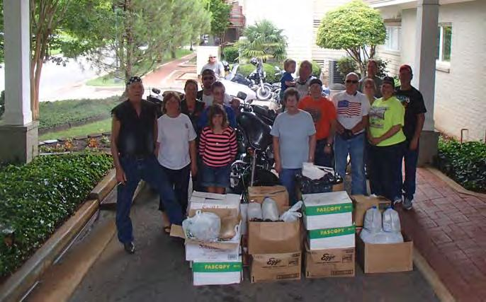 Ronald McDonald House Benefits from Fundraising Efforts Mississippi Riders Deliver 530 lbs of Pull Tabs Our Activity Group took a pleasant ride to Mobile, AL.