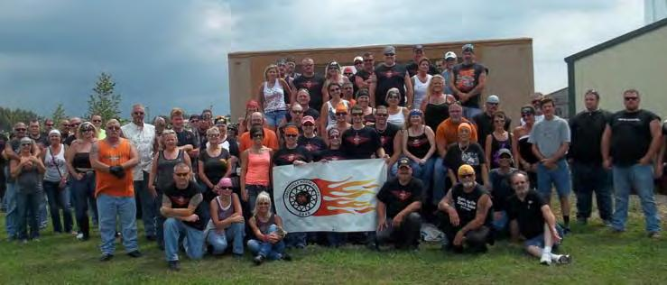 Ohio Riders enjoy a busy summer Circleville to Enter Float at October Pumpkin Show The Circleville Moose Riders held their 2nd annual memorial benefit in honor of fallen member Mike Forrest on