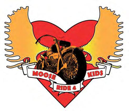 Combined donations reach over $50,000 for Moose Ride 4 Kids Big Heart Three-Peat for Pennsylvania Moose Riders Congratulations for the 3rd year in a row go out to our fellow riders in the state of