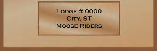 WV. Riders had from the Mooseheart Bike Blessing in May till September 20, to raise funds and submit donations to Mooseheart.