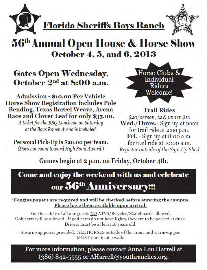 Attention Moose Riders Open House Picnic is Saturday, October 5th.