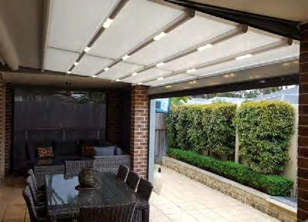 Folding away at the touch of the button the All Seasons retractable awning is designed to ensure the user can get the most out of their area by offering the flexibility