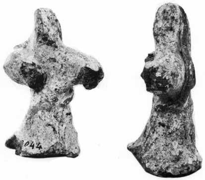 It should be stressed that the NE sector of Ayia Triada provided another two figurines that, in terms of manufacture and decoration, are similar to those retrieved from TDO.