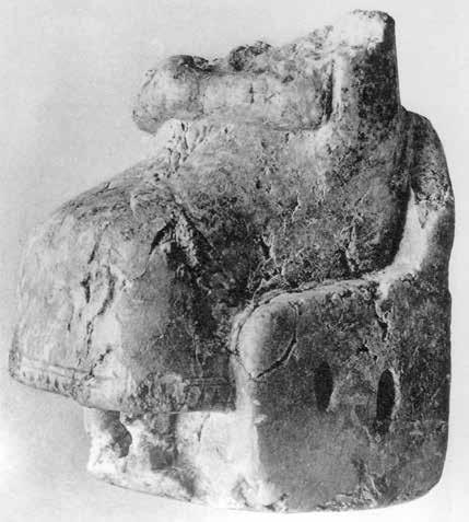 Nicola Cucuzza Fig. 6 - Stone figurine from Mari (after Parrot 1940, pl. VIII, 2) Fig. 7 - Clay model HM 19097-8 from Ayia Triada (after Rethemiotakis 2001, 120 fig.