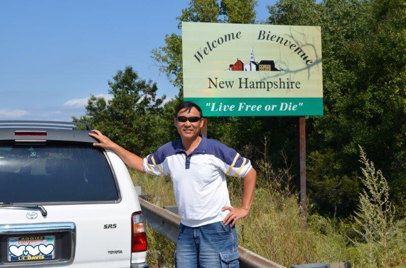 While there, I also was able to satisfy one of my long time wishes to revisit New Hampshire, where I