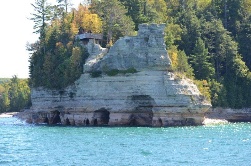 Day 6 (9/6/2012): Our reason for staying in Munising