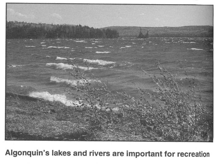 26 Algonquin Provincial Park Management Plan Stewardship Policies Permits will be issued for aggregate extraction in the Park undertaken by the Algonquin Forestry Authority (AFA), the Ministry of