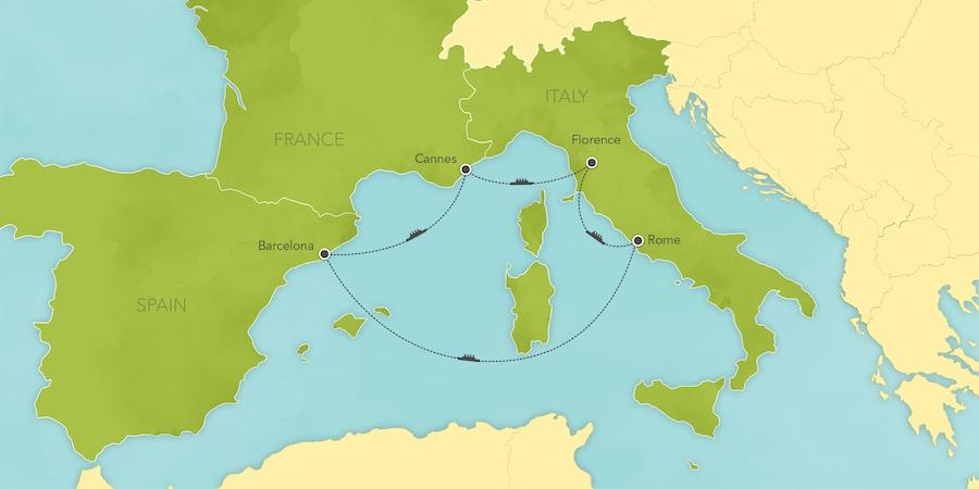 Europe 6 Days / 5 Nights Enhance your next Disney Cruise Line cruise with Adventures by Disney.