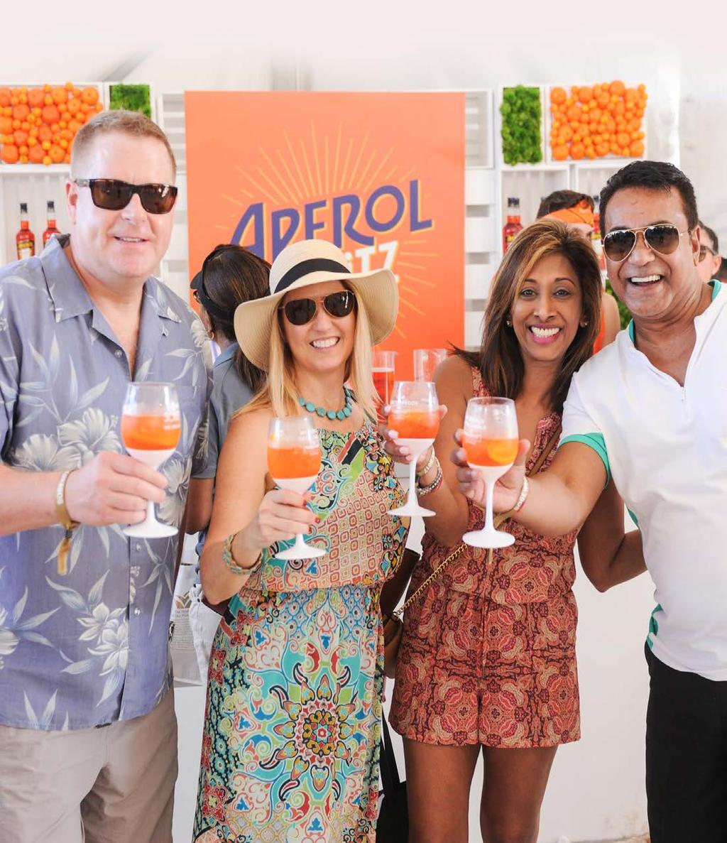 SOUTHERN GLAZER S WINE & SPIRITS SUPPLIER OPPORTUNITIES AT #SOBEWFF 2018 Enclosed is an overview of all SGWS Supplier Opportunities at the 2018 Food Network & Cooking Channel South Beach Wine & Food