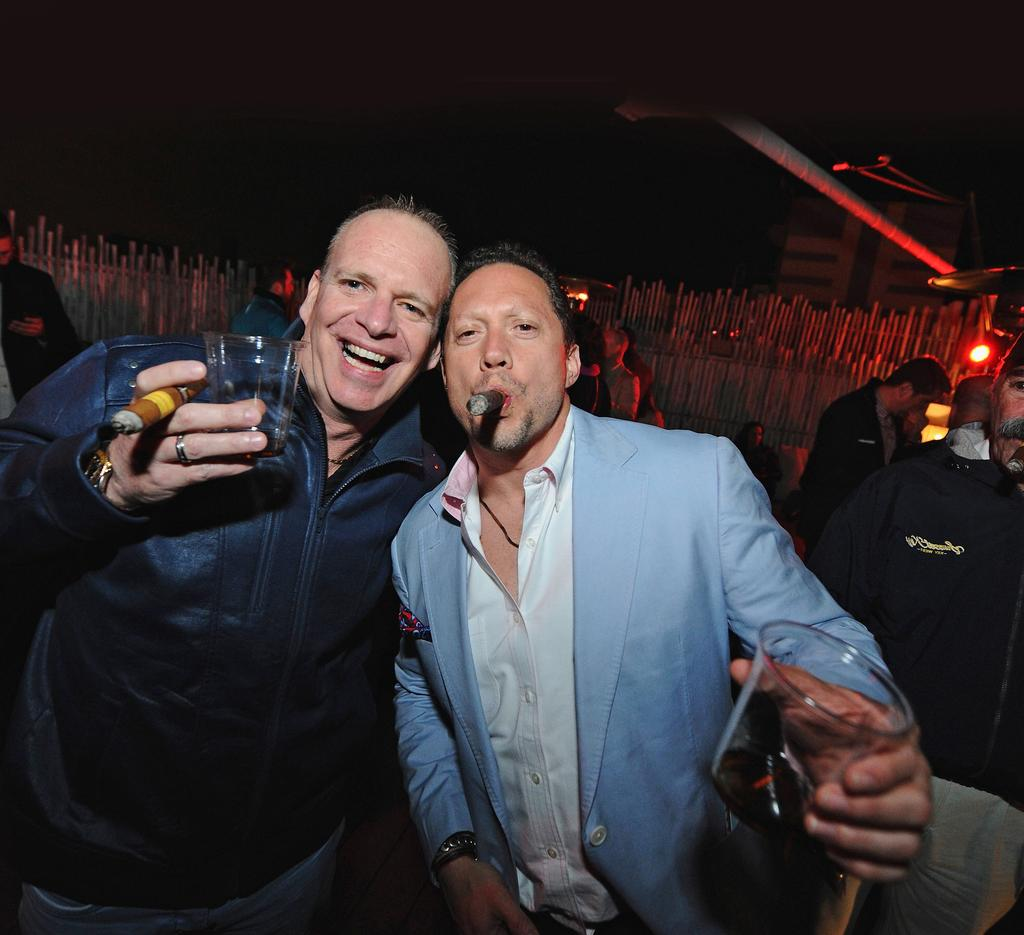 CIGARS & SPIRITS PRESENTED BY CIGAR AFICIONADO Date: Friday, February 23 Time: 11 pm - 1 am Location: Angler s South Beach Rooftop Expected attendance: 175 Price: $95 A sophisticated evening of