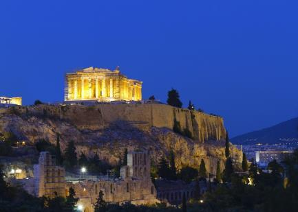 ATHENS BY NIGHT TOUR & GREEK DANCE SHOW Tour time 20:30 Duration 3.